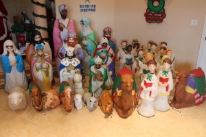 blowmolds nativity