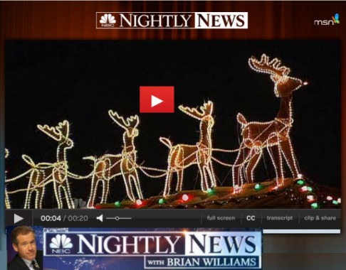 NBC Nightly News Video Presentation 2011
