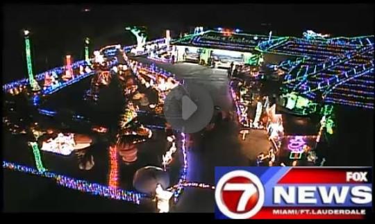 Hyatt Extreme Christmas WSVN Channel 7