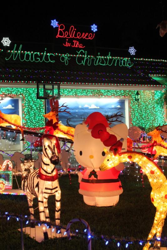 Christmas Hello Kitty, Zebra & Giraffe 2013