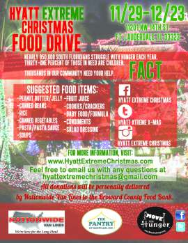 food bank flyer