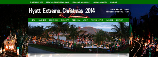 HyattExtremeChristmas.com